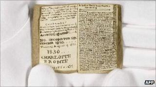 Charlotte Bronte manuscript