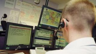 Ambulance control room