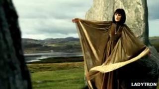 Ladytron's Mirage music video. Pic: Copyright of Ladytron