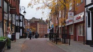 Charles Street, Wrexham