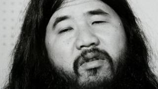 Former cult leader Shoko Asahara, accused of masterminding the 1995 Sarin gas attack on Tokyo's subway