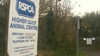Closed RSPCA centre