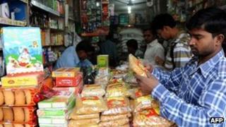 Indian store in Delhi, 24 Nov