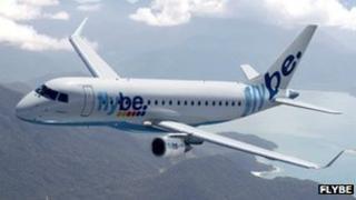 Flybe's new E175 jet