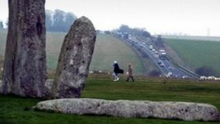 A303 at Stonehenge