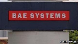 BAE System plant in Warton