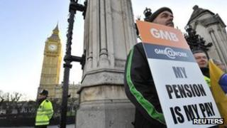 Picket outside Parliament
