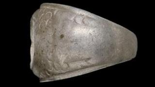 Roman ring found at Cefn Brithdir