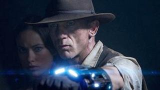 Daniel Craig and Olivia Wilde in Cowboys and Aliens