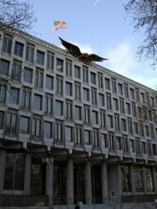 US Embassy in Grosvenor Square