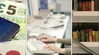 Money, office generic, library generic