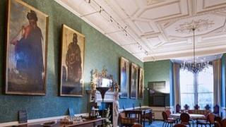Zurbaran paintings at Auckland castle