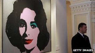 Andy Warhol's Elizabeth Taylor portrait