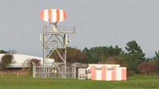 Guernsey Airport's radar