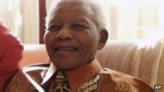 Nelson Mandela pictured in 2011