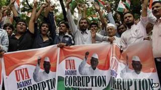 Anti-corruption protest in India