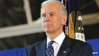 US Vice-President Joe Biden in Maryland VA (20 Dec 2011)