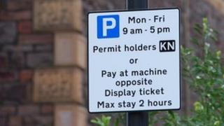 RPZ sign in nearby Kingsdown