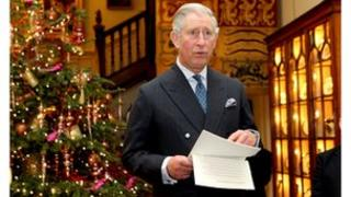 HRH The Prince of Wales at a Clarence House reception celebrating good hospital food