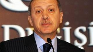 Turkish Prime Minister Recep Tayyip Erdogan speaks in a conference in Istanbul on December 23, 2011
