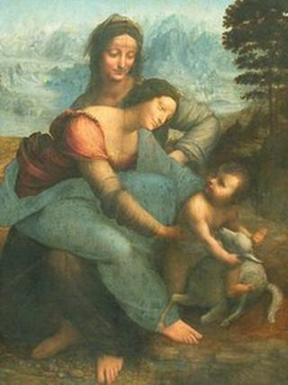 The Virgin and Child with Saint Anne © Musée du Louvre