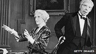 May Warden and Freddie Frinton in Dinner For One