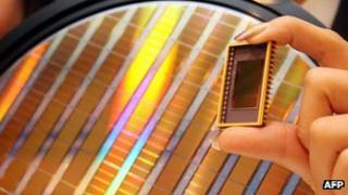Samsung memory chip