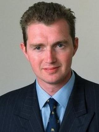 David Davies MP for Monmouth