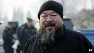 Chinese artist Ai Weiwei, photographed in November 2010