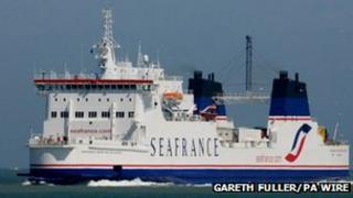 SeaFrance ferry