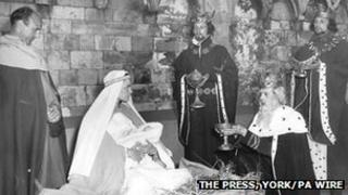 York Mystery Play, 1957 (C) The Press, York /PA Wire