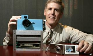 The first digital camera, invented by Steven Sasson of Kodak in the 1970s