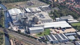 Nestle's plant in Hayes
