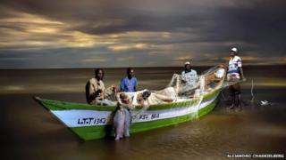 Fishermen in Kenya