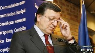 EU Commission President Jose Manuel Barroso, 17 Jan 12