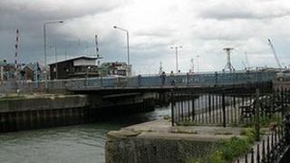 Bascule Bridge, Lowestoft, by Alfie Thurlby