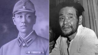 Shoichi Yokoi in 1941 and 1972