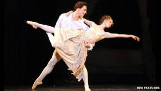 Sergei Polunin and Lauren Cuthbertson at The Royal Opera House, London, 2011