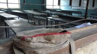 Empty Evangelical Church school in Kano
