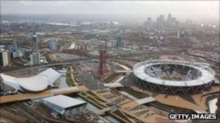 London Olympic Games site