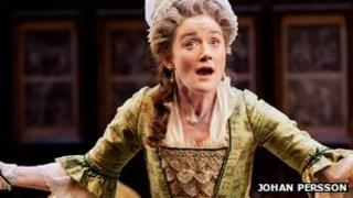 Sophie Thompson in She Stoops to Conquer