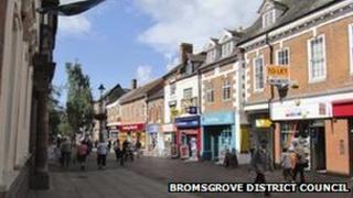 Bromsgrove High Street