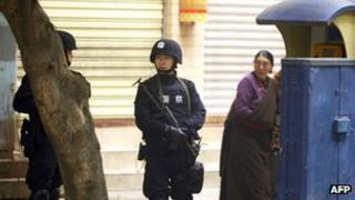 Security in Tibet