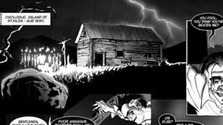 BlackHearted Press comic strip School of the Damned