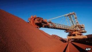 BHP Billiton Western Australia iron ore mine