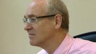 Meirion Prys Jones, chief executive of the Welsh Language Board