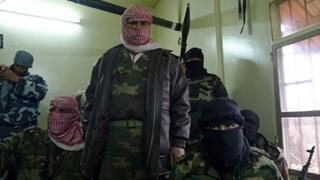 Free Syrian Army fighters