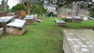 Tombs in the Brothers' Cemetery