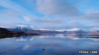 The Great Glen, picture taken by Fiona Carr