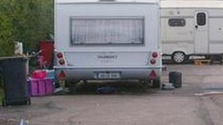 Travellers caravans (generic)